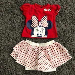 Little Girl Disney Outfit